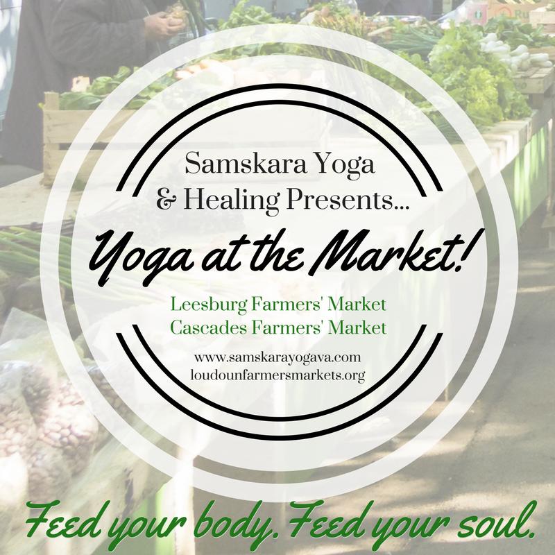 Yoga at the Market! Loudoun Farmers' Market Yoga