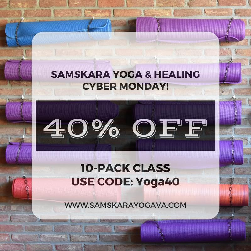 Cyber Monday Yoga Deal! Yoga in Sterling, Yoga in Herndon