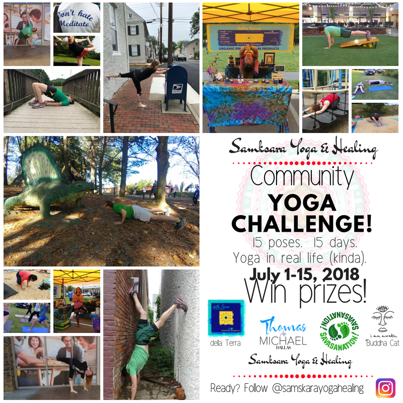 Samskara Community Yoga Challenge! Instagram to Win!