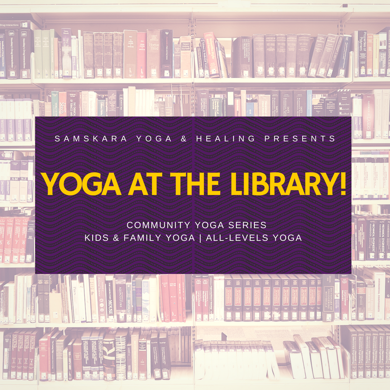 Yoga at the Library! Loudoun County Public Library Yoga Series