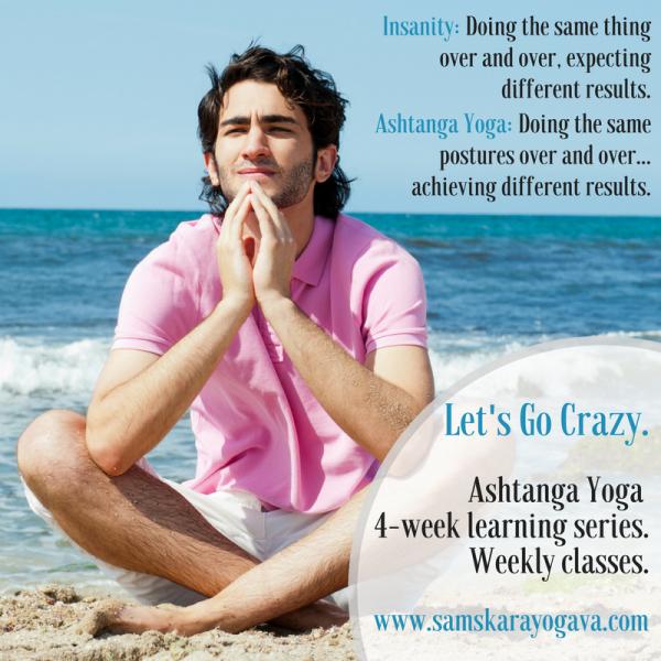 Ashtanga Yoga Workshop Series | Herndon, Dulles, Sterling, VA