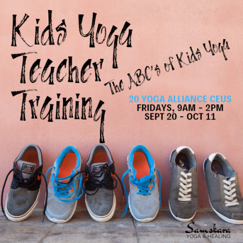 Kids Yoga Teacher Training | The ABCs of Kids Yoga CEU Program