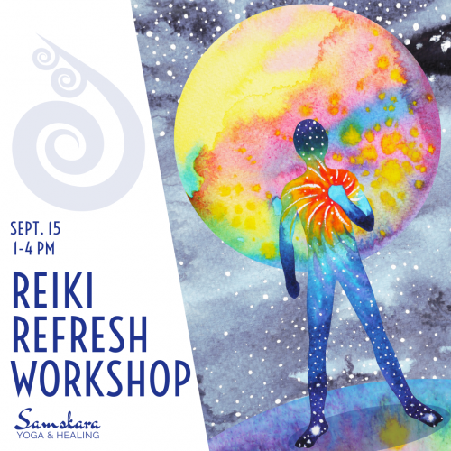 Reiki Refresh Workshop for Reiki I Practitioners