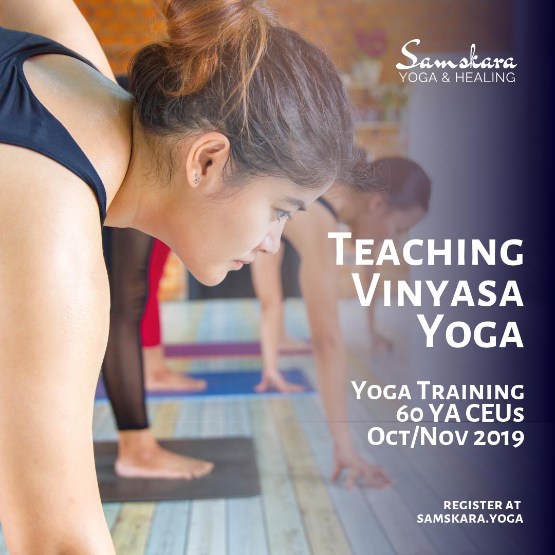 Teaching Vinyasa Yoga Slow flow power yoga
