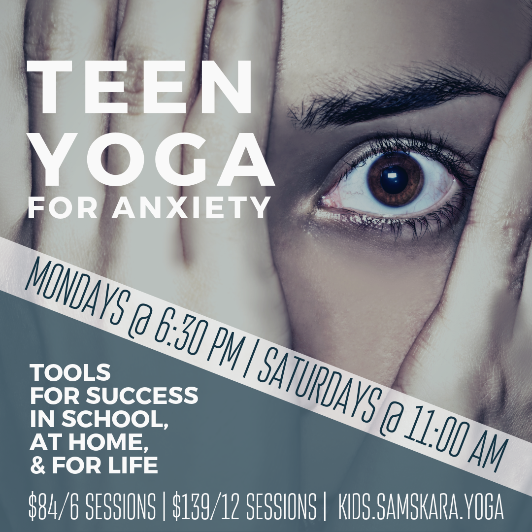 Teen Yoga for Anxiety
