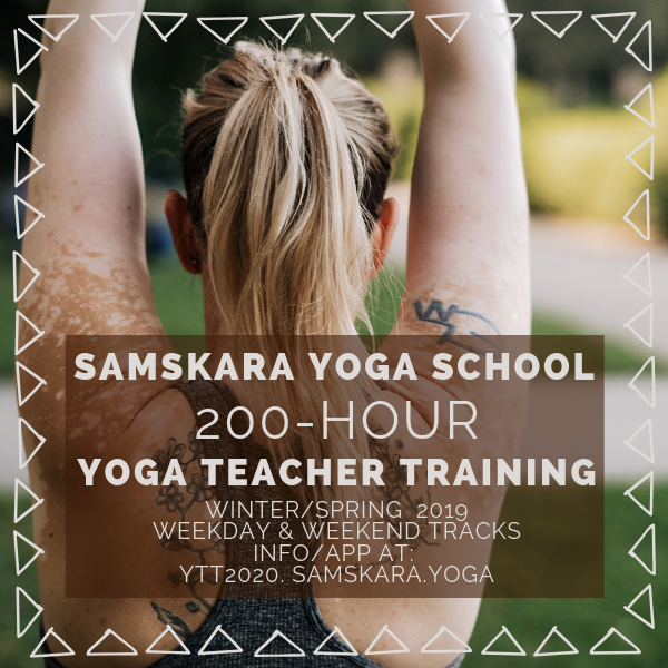 Samskara Yoga Teacher Training Classroom & Open House – Spring 2020 Session