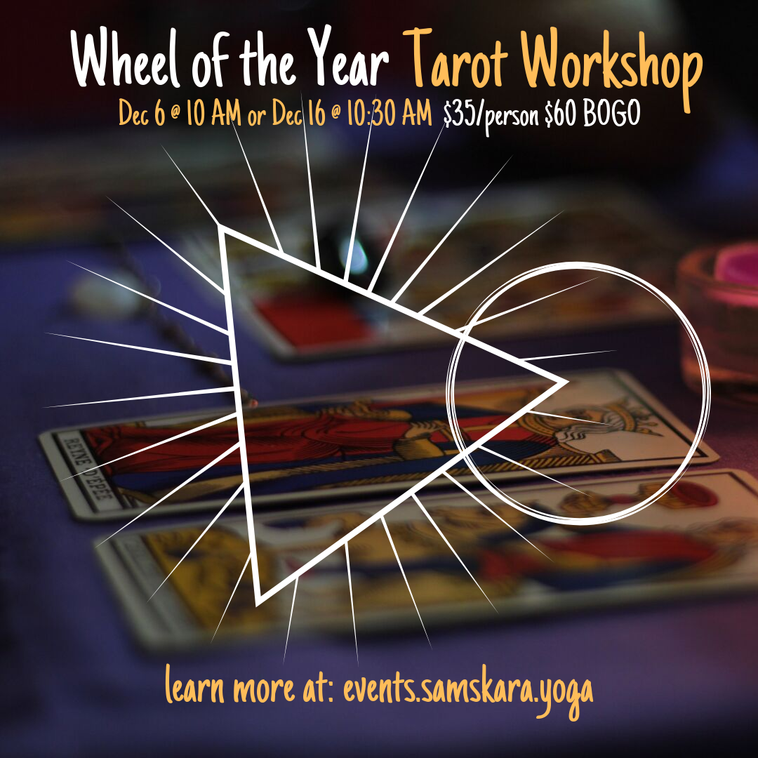 Tarot wheel of the year workshop dulles ashburn sterling herndon leesburg chantilly