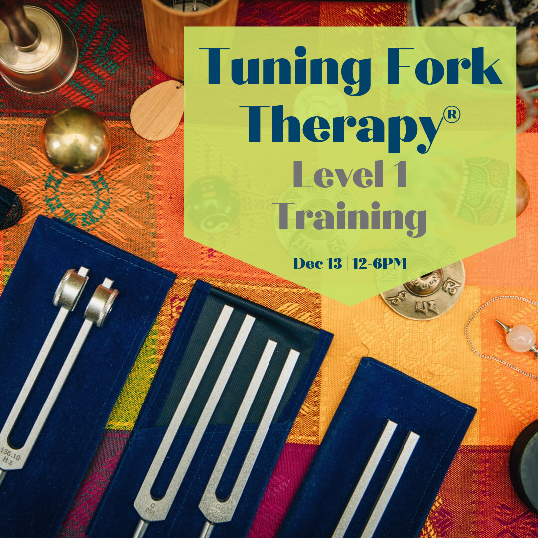 Tuning Fork Therapy (R) level 1 loudoun sterling dulles ashburn chantilly leesburg frederick