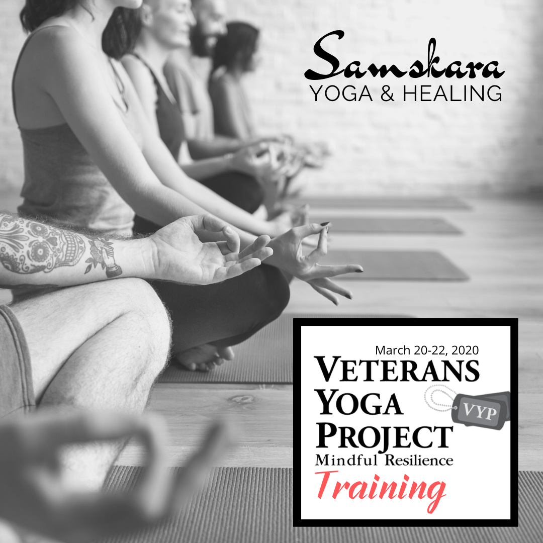 Veterans Yoga Project Mindful Resilience Training