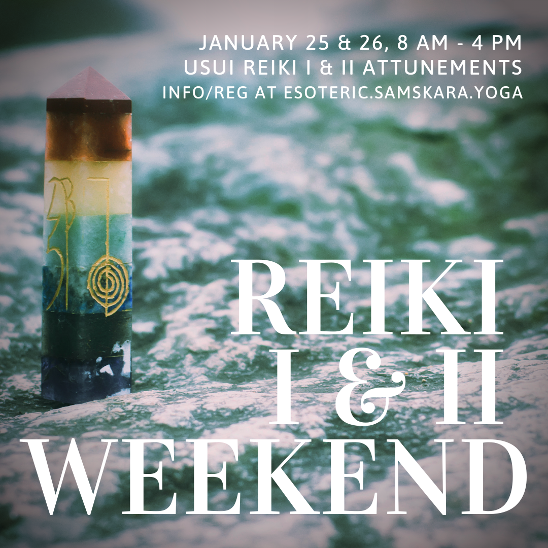 Reiki I & II Weekend Intensive with Calming Winds