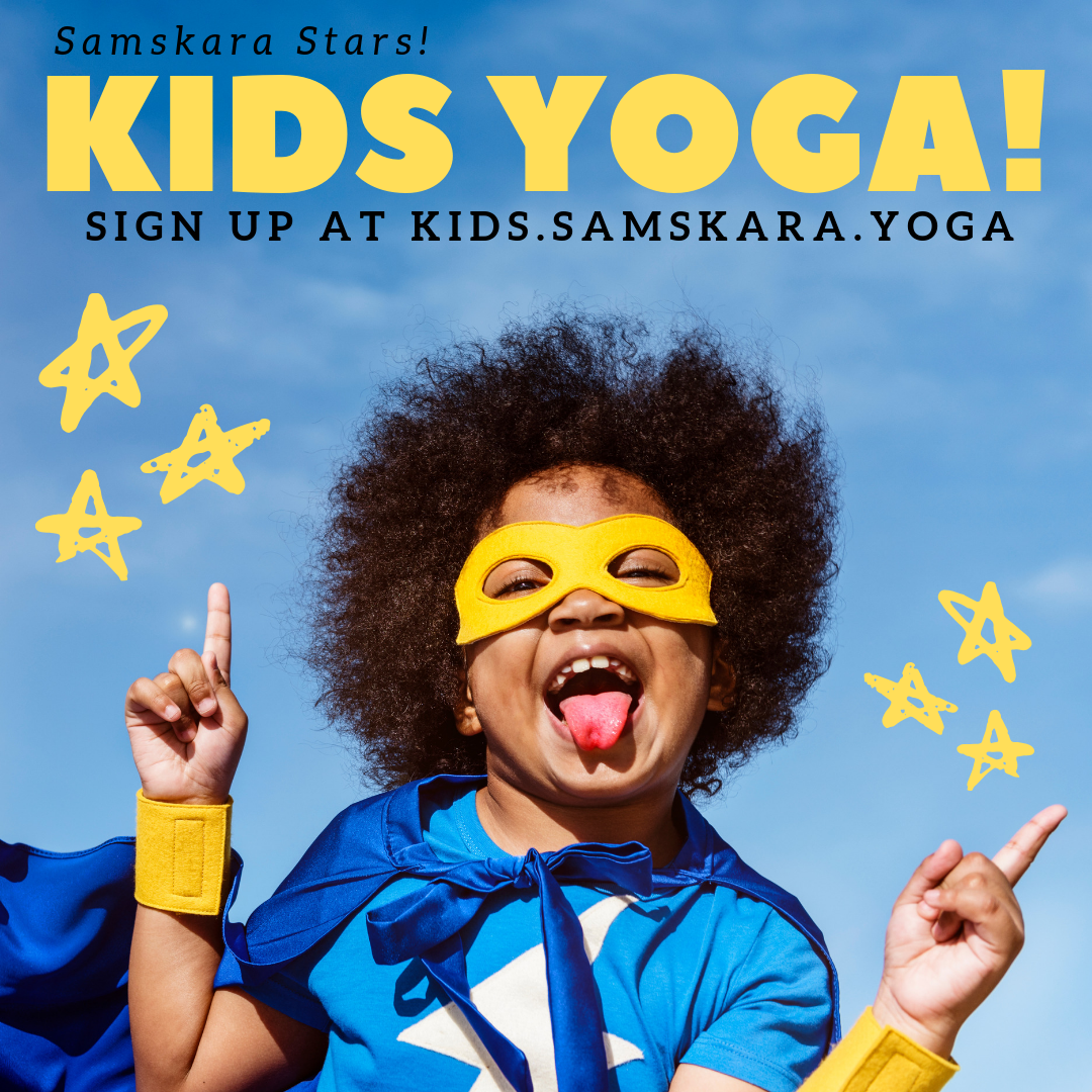 Kids Yoga Winter 2020 Schedule & Announcements