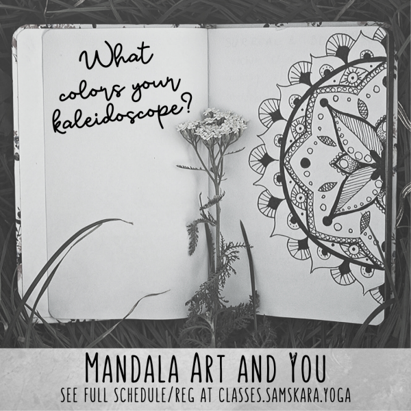 Mandala, Art, & You Workshops with Elena Fugate