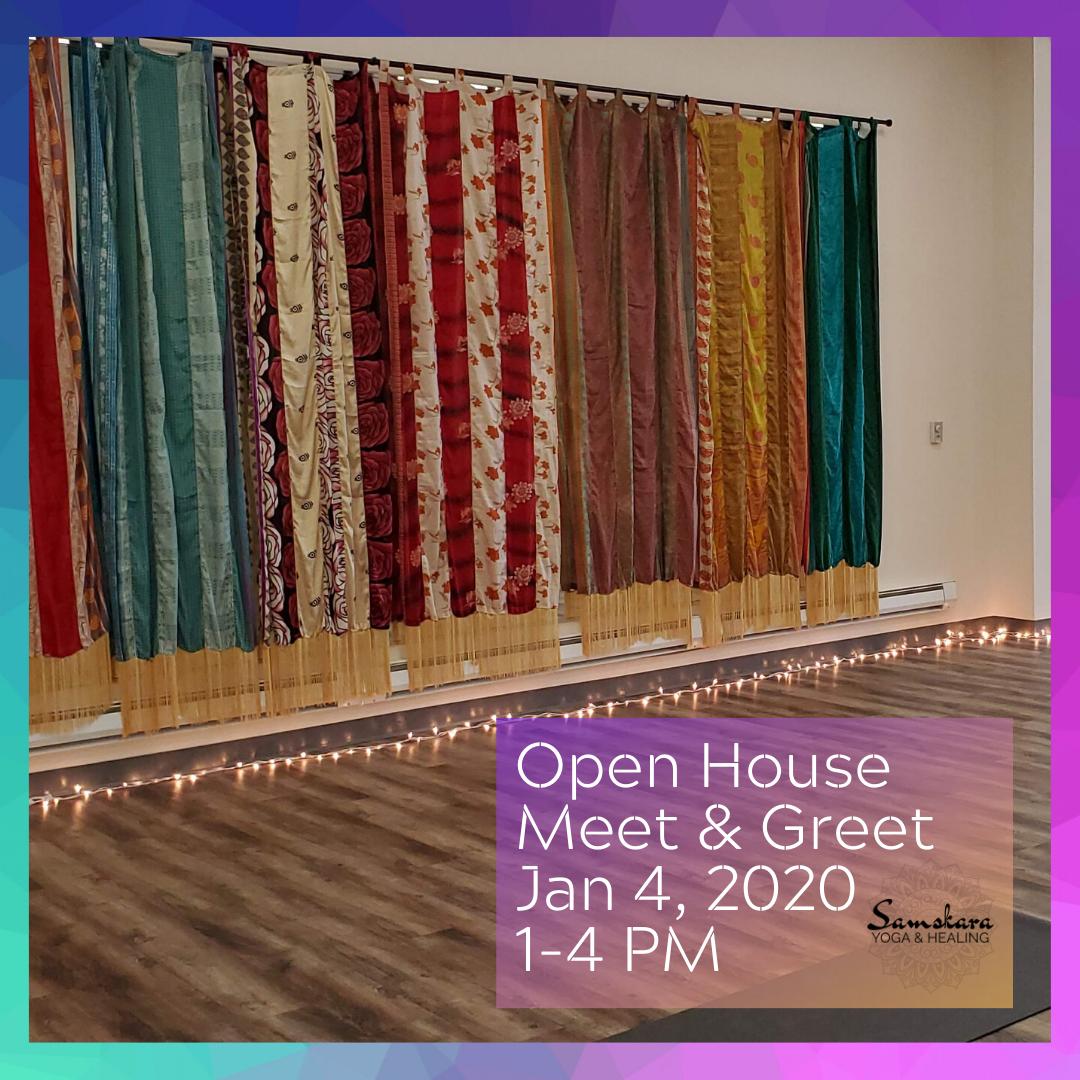New Year Open House at Samskara Yoga & Healing