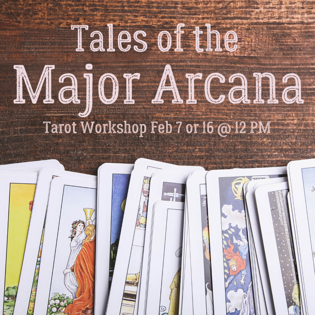 major arcana tarot workshop dulles ashburn sterling chantilly