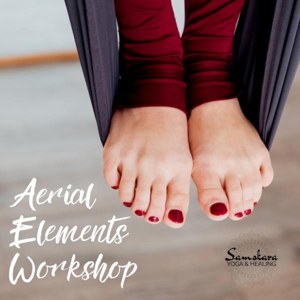 Aerial Elements Workshop for Beginner Aerial Yoga Students