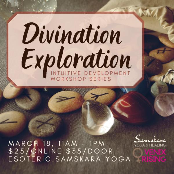 Divination Exploration Workshop Series at Samskara Yoga & Healing