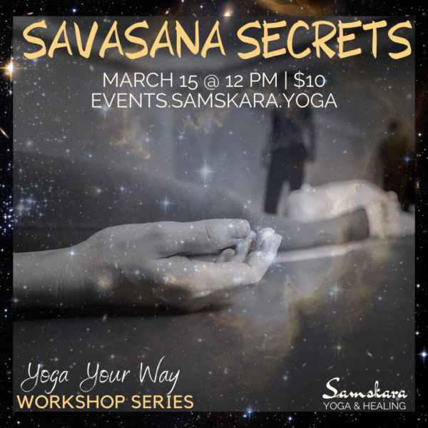 savasana workshop yoga fitness barre sterling dulles ashburn herndon chantilly loudoun