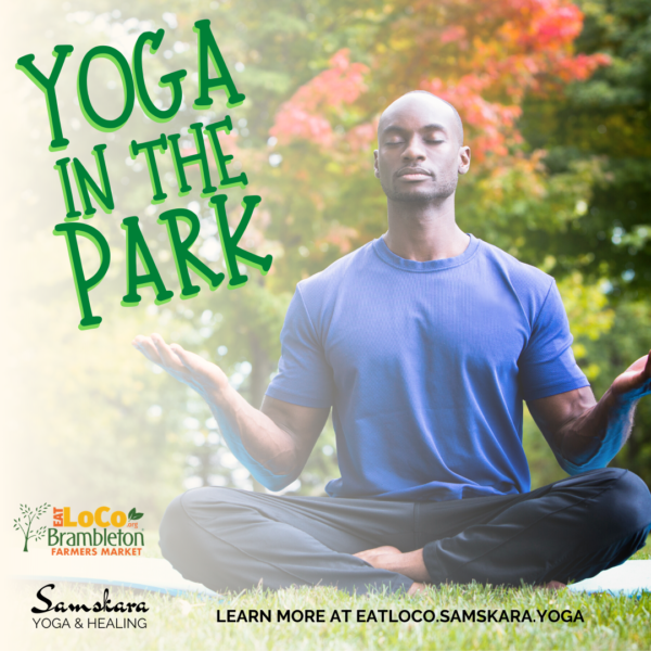 Yoga in the Park at Brambleton Eat LoCo Farmers Market