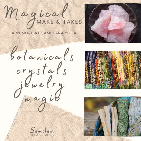 Magical Make and Take jewelry crystals candles crafts ashburn sterling dulles herndon leesburg chantilly