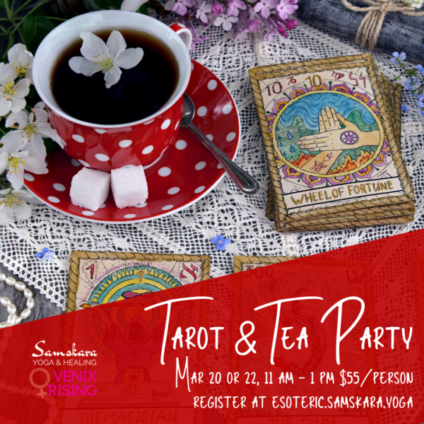 Tarot & Tea Party samskara ashburn dulles sterling leesburg herndon chantilly