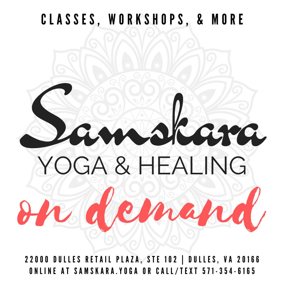COVID-19 Updates at Samskara Yoga & Healing