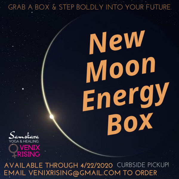 New Moon Energy Box manifestation intention witchery spells ashburn sterling dulles