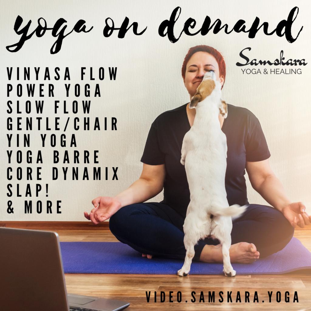 Samskara Virtual Practice Center Online Videos Samskara Yoga Healing